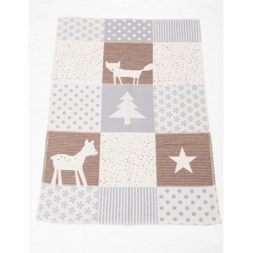 Бебешко одеяло от органичен памук Lena